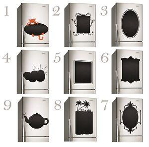 Lavagna cucina frigo decalcomania vinile note adesivo for Stickers lavagna cucina