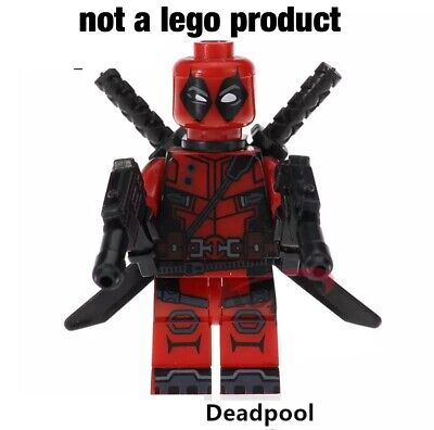 Custom Minifigure fortnite Deadpool USA seller