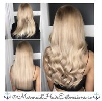 ✨MERMAID HAIR EXTENTIONS✨Premium Quality   Trusted Services✨$355