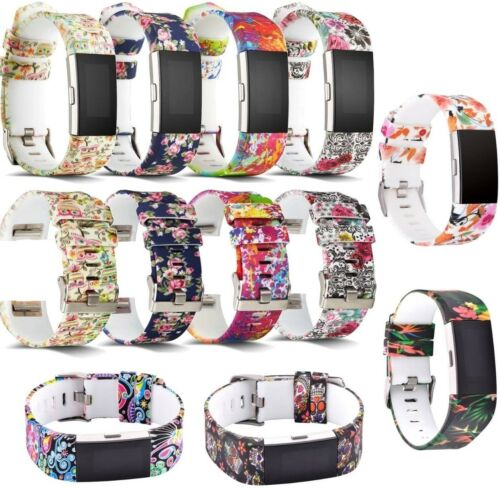 Sport For Fitbit Charge 2 Replacement Smart Watch Strap Bracelet Wrist Band