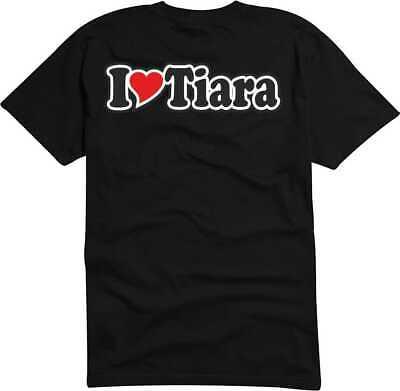 T-Shirt / Funshirt Mann o. Frau - Ich liebe - I LOVE Tiara T-shirt Tiara