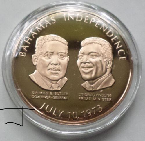 BAHAMAS Bahama Islands Sir Milo Butler Lynden O. Pindling Bronze Medal