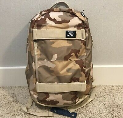 Nike SB Courthouse Printed Skate Backpack-Dsrt Camo-One Size #BA6111 220