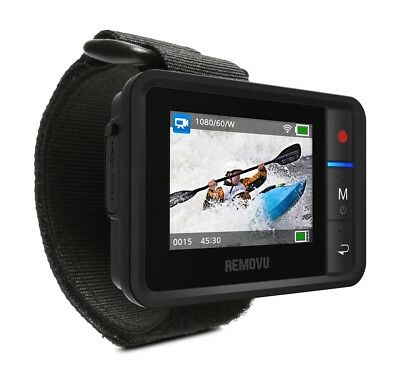 Removu R1+ Waterproof Live View Remote for GoPro HERO3/3+/4/4 Session/5 Black/6