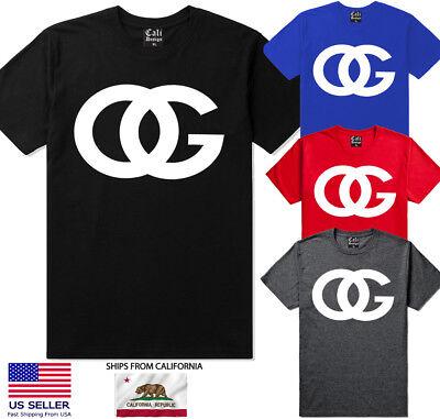 Urban T-shirt Designs - OG Original Gangster T shirt Designer Streetwear urban clothing Gangsta OG Tee