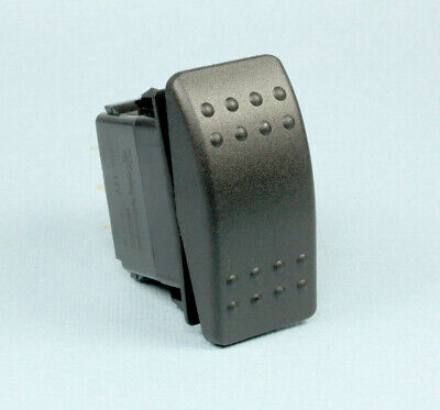 1pc Carling Momentary Rocker Switch Dpdt 20a 12vdc On Off On