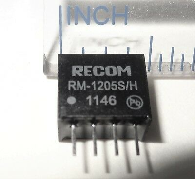 25 Pcs Rm-1205sh 12v To 5v Dc-dc Converter Isolated Output. 50ma 10d3-3