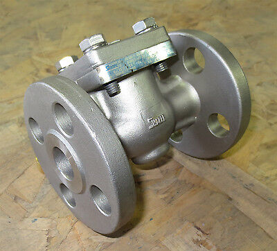 12 Sharpe 25116 Stainless Steel 316 Flanged 150 Swg Check Valve