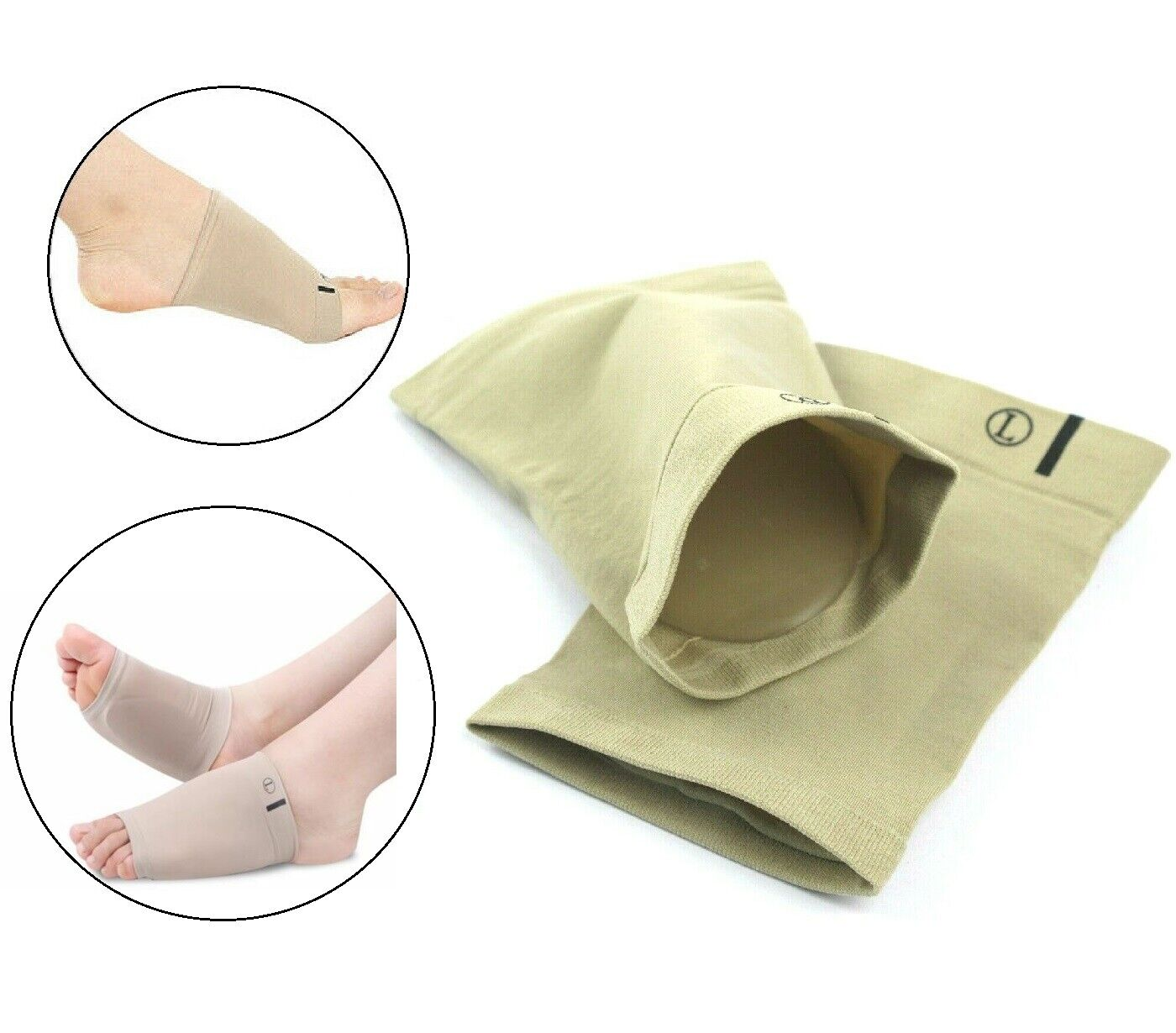 Arch Support Gel Orthotic Insole Plantar Fasciitis Foot Slee