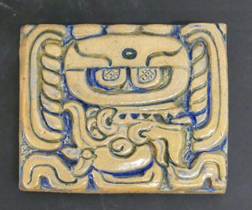 Batchelder Vintage California Glazed Mayan Tile