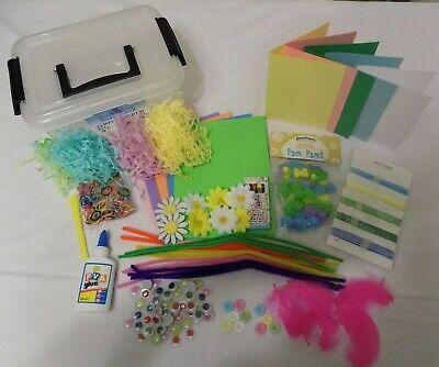 Bumper Crafts Kids SPRING Cards  Pastel Plastic Tub mug kit Gift decoration box - Kids Spring Crafts