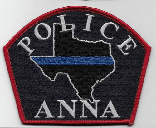 Anna Police State Texas TX NEW NEAT!