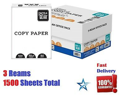 Printer Paper Office Multipurpose Sheets 8 5 X 11 Letter Size Computer White