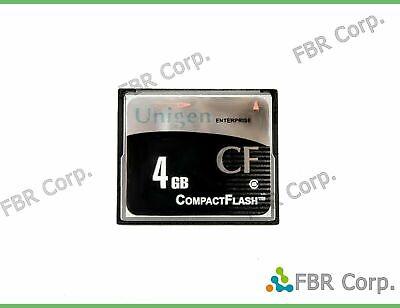 Lot 10 4 1 Unigen 4GB Enterprise Compact Flash CF Memory Card High-Speed US Made
