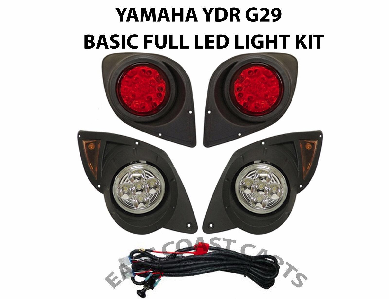 Yamaha G29 YDR Drive Golf Cart 2007'-up Full LED Head & Taillight LIGHT KIT