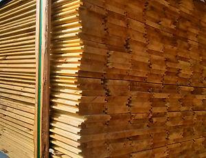 Perline in legno impregnato mm.20x120x3000 da esterni doghe a incastro trattate  eBay