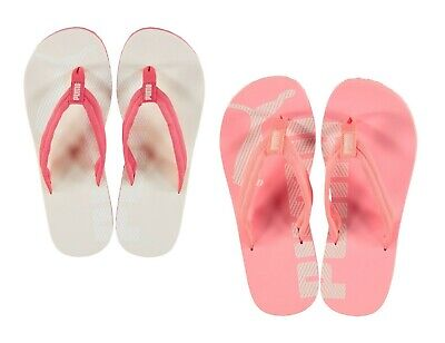 Genuine Puma Epic Flip Flops Ladies Summer Footwear Beach Pool Sizes 3-6