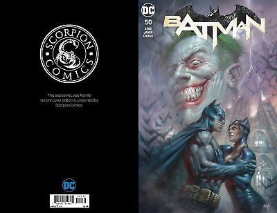 BATMAN 50 LUCIO PARRILLO COLOR VARIANT 3000 MADE WEDDING ISSUE JOKER COVER VF/NM