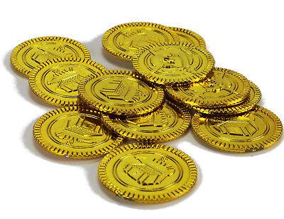 Piratenschatz 12 Münzen Goldtaler Piratengold Spielgeld Goldschatz Spiel Gold