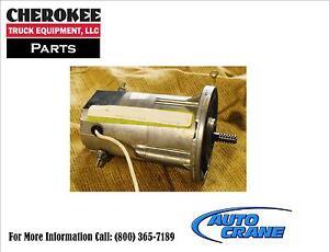 Auto crane 300105001 motor 24 volt dumore 5004 6006 cable for Motors used in cranes