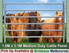 Medium Duty 6 Oval Bars 1.6mm Thick Cattle Horse Yard Panel Derrimut Brimbank Area Preview
