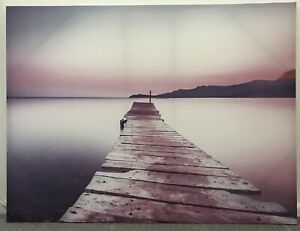 Canvas of Jetty on water Temora Temora Area Preview