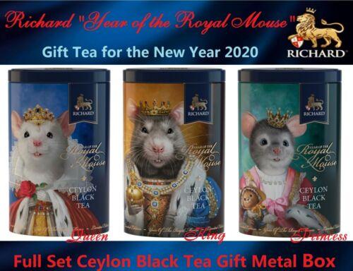 Richard tea The Royal Mouse Full Set Gift metal bank gift for X-mas New Year2020