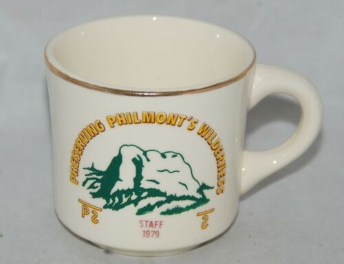 1979 Philmont Scout Ranch Cimarron NM Preserving Wilderness Staff Coffee Mug Cup