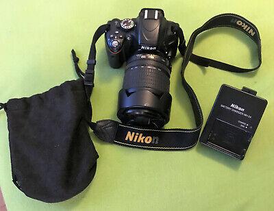 Nikon D5100 16.2MP SLR-Digitalkamera - Schwarz (Nur Gehäuse) segunda mano  Embacar hacia Mexico