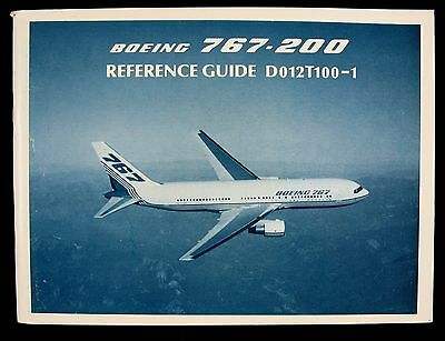 Boeing 767 200 Reference Guide D012t100 1 June 1992 Book