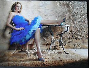 YASMIN-LE-BON-signed-16x12-Photo-CATWALK-SUPERMODEL-COA