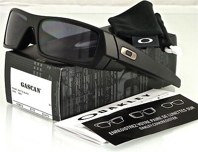 NEW Oakley Gascan Sunglasses Matte Black l Grey 03-473
