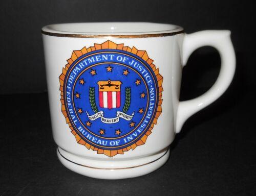 FBI Department of Justice Federal Bureau of Investigation Mug Coffee Cup