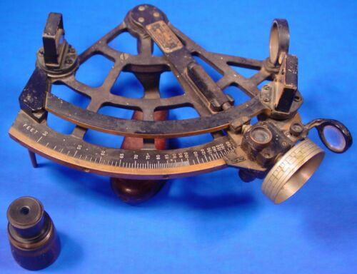 Schick Stadimeter Sextant, US Navy,  for Measuring Distances Mechanically