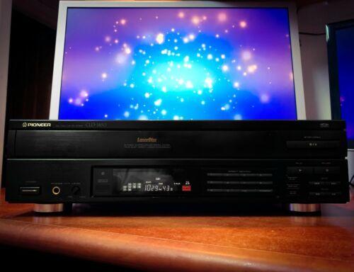 PIONEER 🔥RARE🔥 CLD-1450 (1989) Vintage PAL NTSC Laser Disc Player Movie Bundle