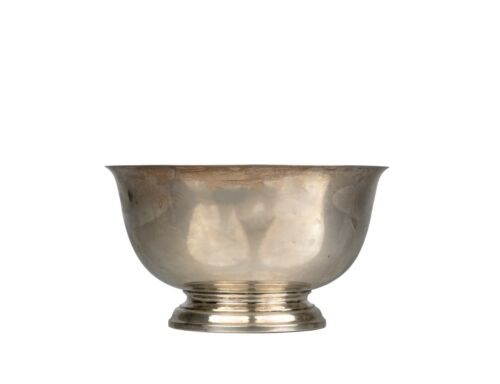 A Vintage Gorham Sterling Silver Paul Revere Reproduction Bowl