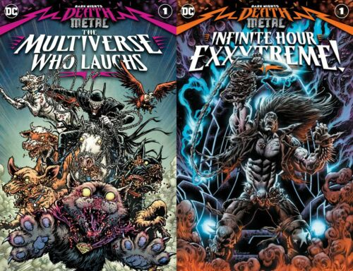 Dark Nights Death Metal  the Multiverse Who Laughs + Infinite Hour Exxxtreme! 1