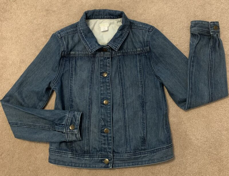 CrewCuts Girls 14 Prewashed Demin Jacket