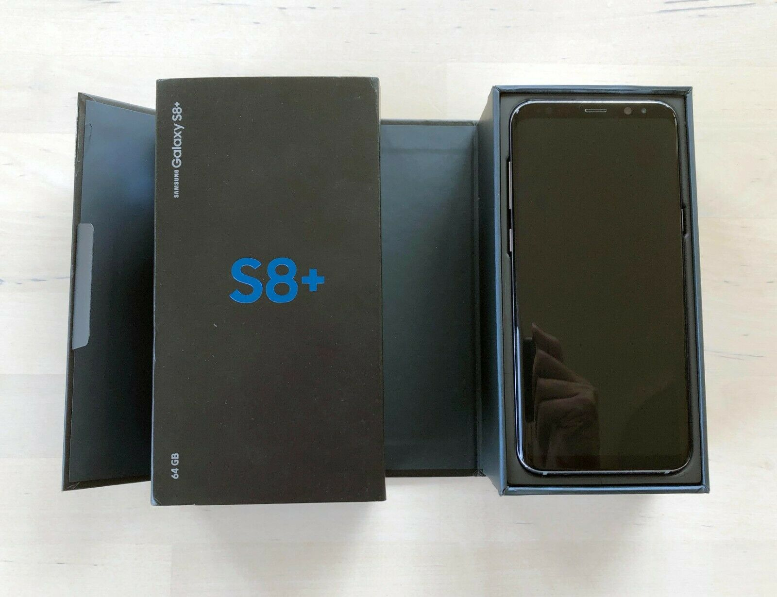 Android Phone - SAMSUNG Galaxy S8+ Plus 64GB Dual Sim Unlocked Smartphone Orchid Gray As New