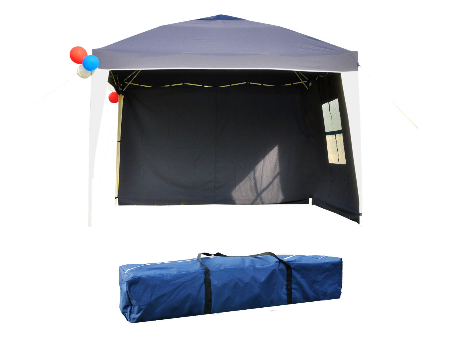 10'x10' EZ Pop Up Tent Canopy Heavy Duty Outdoor Party Tent