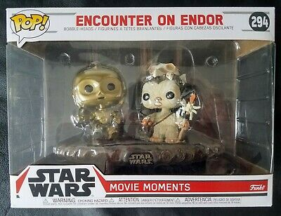 Funko Pop! Movie Moments Star Wars #294 ENCOUNTER ON ENDOR NEW!!