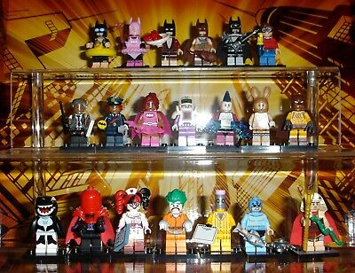 THE LEGO BATMAN MOVIE COLLECTIBLE MINIFIGURES SERIES 1 COMPLETE SET OF 20 71017