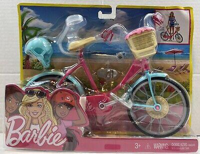 Barbie Biking Fun Furniture And Accessories Set NEW