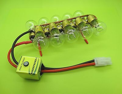 (20 AMP BATTERY DISCHARGER & CUTOFF SWITCH FOR TRAXXAS KYOSHO / MADE IN USA)