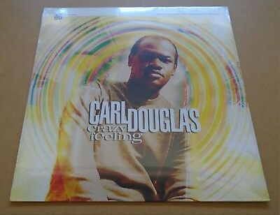 CARL DOUGLAS Crazy Feeling 2014 UK vinyl LP SEALED Acid Jazz Mod