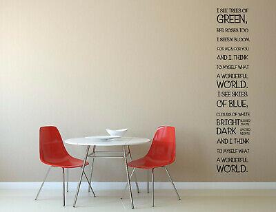 Que Mundo Maravilhoso Louis Armstrong Canção Que Eu Vejo Árvores De Verde cotação Vinil Wal