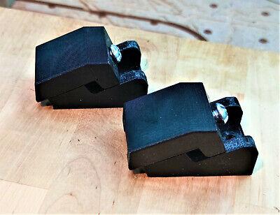 Cnc Toe Push Clamp Kit Hobby Machines 3d Printed Black 4 Count