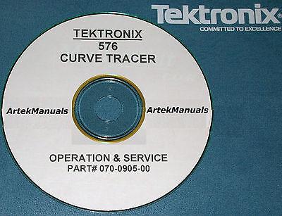 Tektronix Instruction Manual Operating Service 576 Curve Tracer