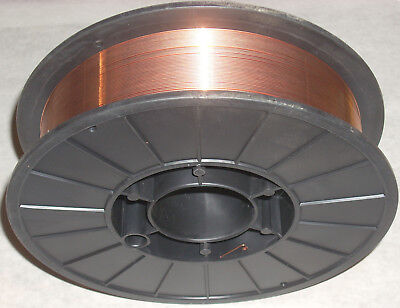 11 Lb Roll Of Er70s-6 Mild Steel Mig Welding Wire .035 Precision Wound Free Ship