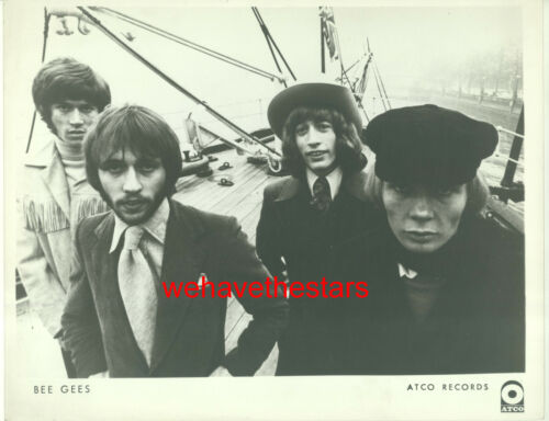 VINTAGE The Bee Gees EARLY 60s POP ROCK GROUP Publicity Portrait